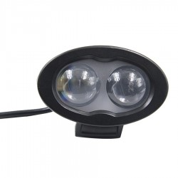 Luz Led Azul Advertencia  THU-TPBL6W