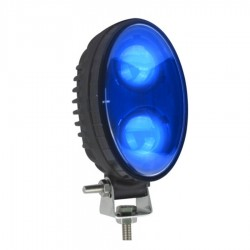 Luz Led AZUL Advertencia PUNTO  THU-P9010
