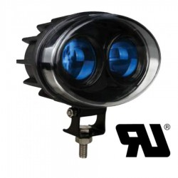 Luz Led AZUL Advertencia PUNTO  THU-P9090